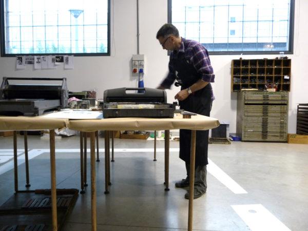 Pete printing