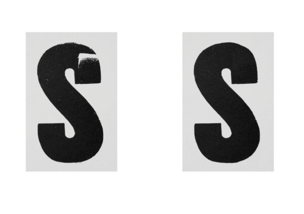 Printed Letters