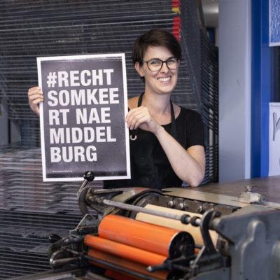 Marieke van der Perk | Monotypes