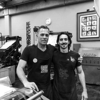 Marcos Mello & Gabriel Miranda | Oficina Tipográfica São Paulo