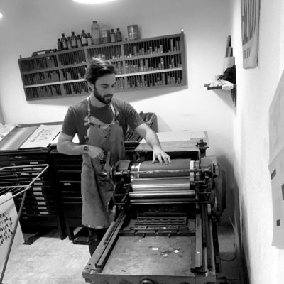 Chris Wilson | BlackDog Letterpress